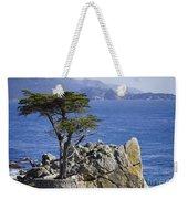 Lone Cypress Tree Weekender Tote Bag