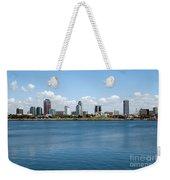 Long Beach Skyline Weekender Tote Bag