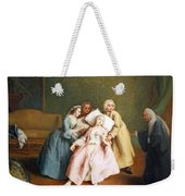 Longhi's The Stimulated Faint Weekender Tote Bag