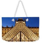 Louvre Pyramid Weekender Tote Bag