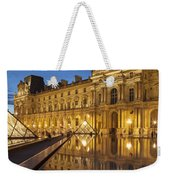 Louvre Reflections Weekender Tote Bag by Brian Jannsen