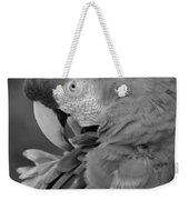 Macaws Of Color B W 17 Weekender Tote Bag