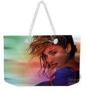 Madonna Art Weekender Tote Bag