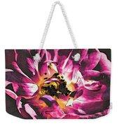 Magenta Rose Weekender Tote Bag