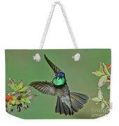 Magnificent Hummingbird Weekender Tote Bag