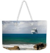 Majesty Of The Seas At Coco Cay Weekender Tote Bag