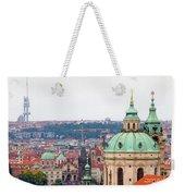 Mala Strana In Prague Weekender Tote Bag