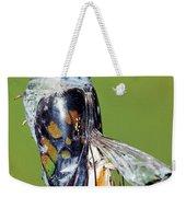 Malachite Butterfly Metamorphosis Weekender Tote Bag