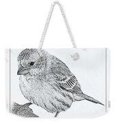 Male House Finch Sketch  Weekender Tote Bag