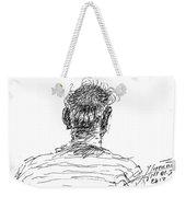 Man Head Weekender Tote Bag