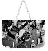 Marilyn Monroe In Korea Weekender Tote Bag