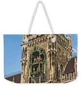 Mechanical Clock In Munich Germany Weekender Tote Bag
