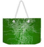 Medellin Street Map - Medellin Colombia Road Map Art On Colored  Weekender Tote Bag