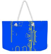 Medical Probe For Injecting Xray Contrast Patent 1970 Weekender Tote Bag