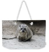 Rock Hyrax Headshot Weekender Tote Bag