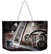 Mercedes-benz 250 Se Steering Wheel Emblem Weekender Tote Bag