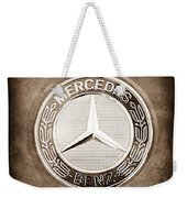 Mercedes-benz 6.3 Amg Gullwing Emblem Weekender Tote Bag