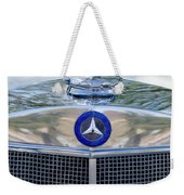 Mercedes-benz Hood Ornament Weekender Tote Bag