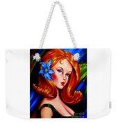 Mod Barbie Redhead Weekender Tote Bag