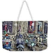 Mod Scooters And 60s Fashion Weekender Tote Bag