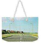 Modern Road Weekender Tote Bag