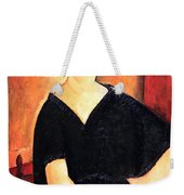 Modigliani's Madame Amedee -- Woman With Cigarette Weekender Tote Bag
