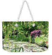 Monets Waterlily Pond Weekender Tote Bag