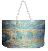 Monet's Waterloo Bridge In London At Sunset Weekender Tote Bag