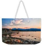 Mono Lake Sunset Weekender Tote Bag
