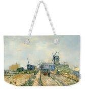 Montmartre Mills And Vegetable Gardens Weekender Tote Bag