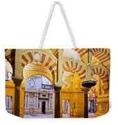 Mosque-cathedral In Cordoba Weekender Tote Bag