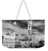 2 Motels Weekender Tote Bag