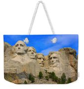 Mount Rushmore South Dakota Weekender Tote Bag