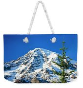 Mt Rainier Weekender Tote Bag