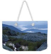Mt. Washington Blue Hour Weekender Tote Bag