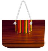 Multi Colored Paint Brushes Weekender Tote Bag