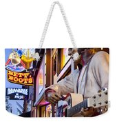 Music City Usa Weekender Tote Bag by Brian Jannsen