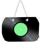 Music Record Weekender Tote Bag