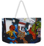 Mutinous Objects Gather In Darkness. The Underground Weekender Tote Bag