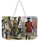 Nathan Hale (1755-1776) Weekender Tote Bag