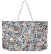 Natural Rock Pebble Backgorund Weekender Tote Bag