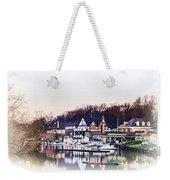 On Boathouse Row Weekender Tote Bag