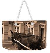 New Orleans - Bourbon Street Horse 3 Weekender Tote Bag