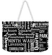 New Orleans Weekender Tote Bag