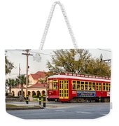 New Orleans Streetcar Weekender Tote Bag