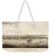 New York City, 1840 Weekender Tote Bag