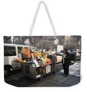 New York Street Vendor Weekender Tote Bag