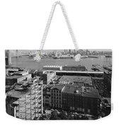 New York Water Street Weekender Tote Bag