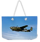 North American B-25g Mitchell Bomber Weekender Tote Bag