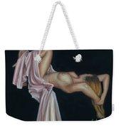 Nude Weekender Tote Bag by Leida Nogueira